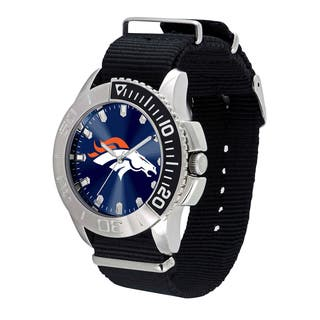 Denver Broncos NFL Starter Men's Watch|https://ak1.ostkcdn.com/images/products/12137255/P18993807.jpg?impolicy=medium