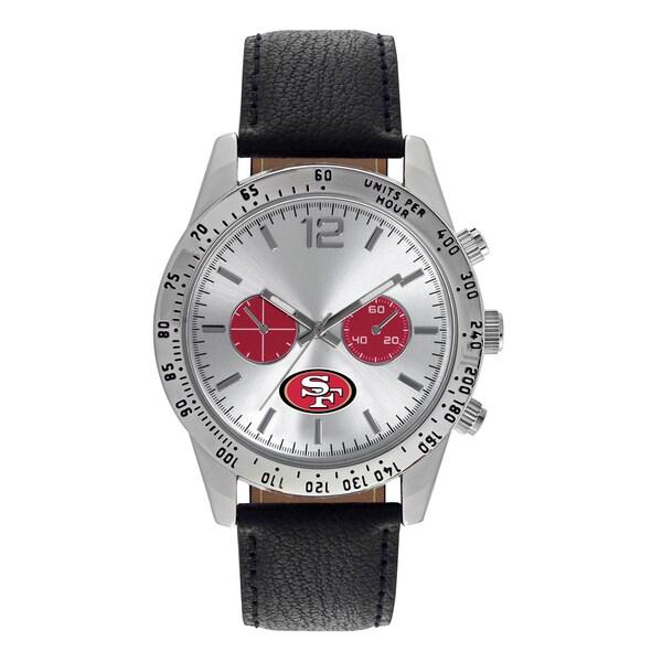 San Francisco 49ers NFL Letterman Men's Watch