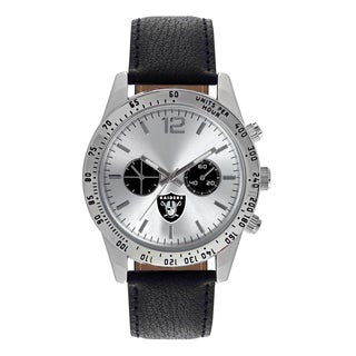 Oakland Raiders NFL Letterman Men's Watch