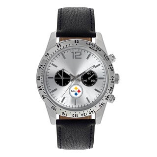 Pittsburgh Steelers NFL Letterman Men's Watch