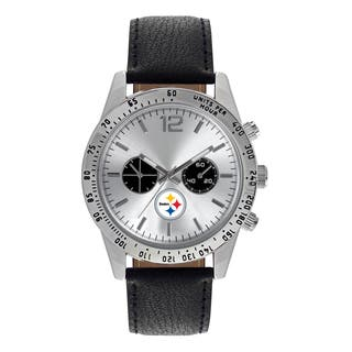 Pittsburgh Steelers NFL Letterman Men's Watch|https://ak1.ostkcdn.com/images/products/12137284/P18993823.jpg?impolicy=medium