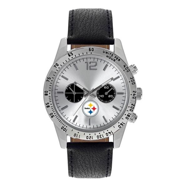 Pittsburgh Steelers NFL Letterman Men's Watch
