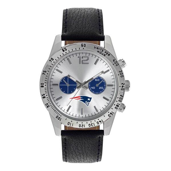 New England Patriots NFL Letterman Men's Watch