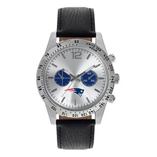 New England Patriots NFL Letterman Men's Watch
