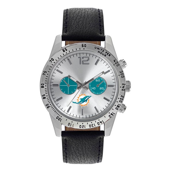 Miami Dolphins NFL Letterman Men's Watch