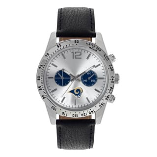 Los Angeles Rams NFL Letterman Men's Watch|https://ak1.ostkcdn.com/images/products/12137292/P18993832.jpg?impolicy=medium