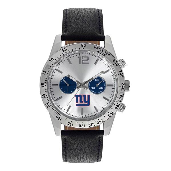 New York Giants NFL Letterman Men's Watch