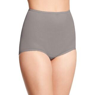 Bali Women's Skimp Skamp Warm Steel Cotton-blend Brief Panty