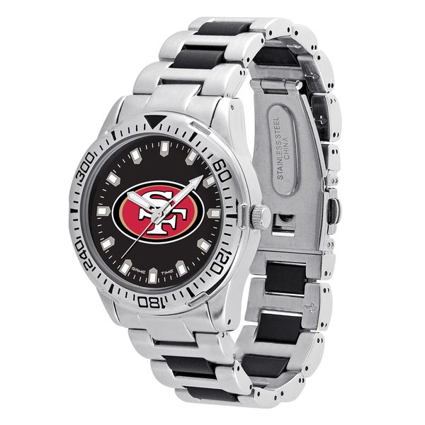 San Francisco 49ers NFL Heavy Hitter Men's Watch