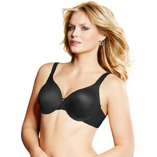 Lilyette Women's Black Super Cool Comfort Minimizer Bra