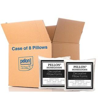 Pellon PPI Decorative Microfiber Shell 12-inch x 12-inch Pillow Forms (Case of 8)