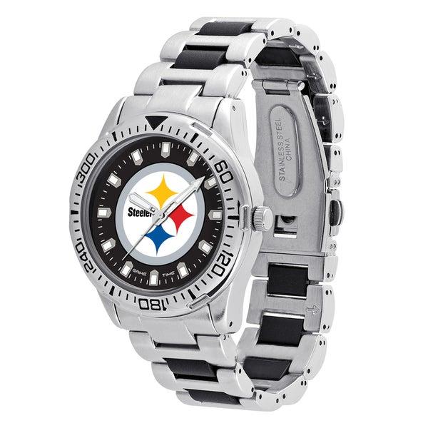 Pittsburgh Steelers NFL Heavy Hitter Men's Watch