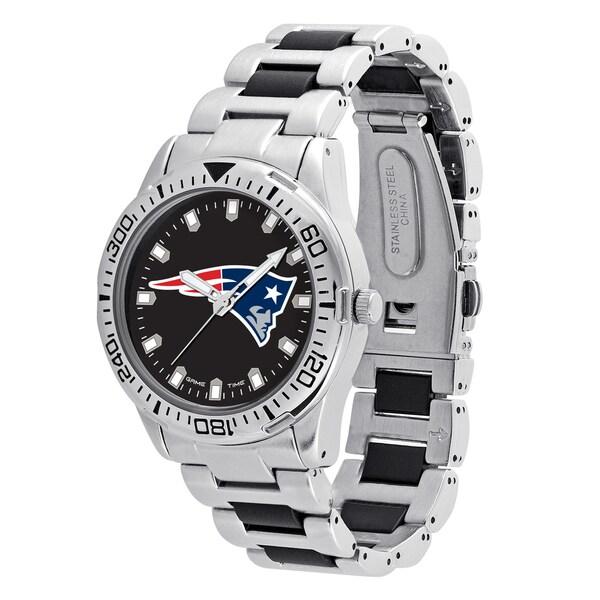 New England Patriots NFL Heavy Hitter Men's Watch