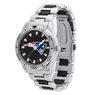 New England Patriots NFL Heavy Hitter Men's Watch