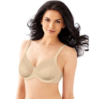 Enchantment Women's Lace Minimizer Latte Lift Ivory Bra