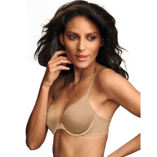 Maidenform Women's Latte Cotton/Polyester/Spandex Custom Lift Tailored Demi T-shirt Bra