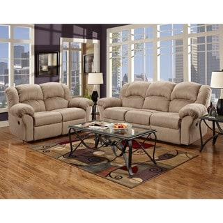 SOFA TRENDZ Chelsea Reclining Sofa and Loveseat Set