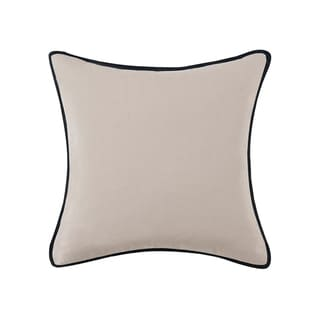 Vince Camuto Taos Textured Flange Square Throw Pillow