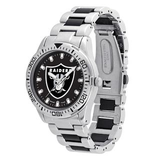 Oakland Raiders NFL Heavy Hitter Men's Watch