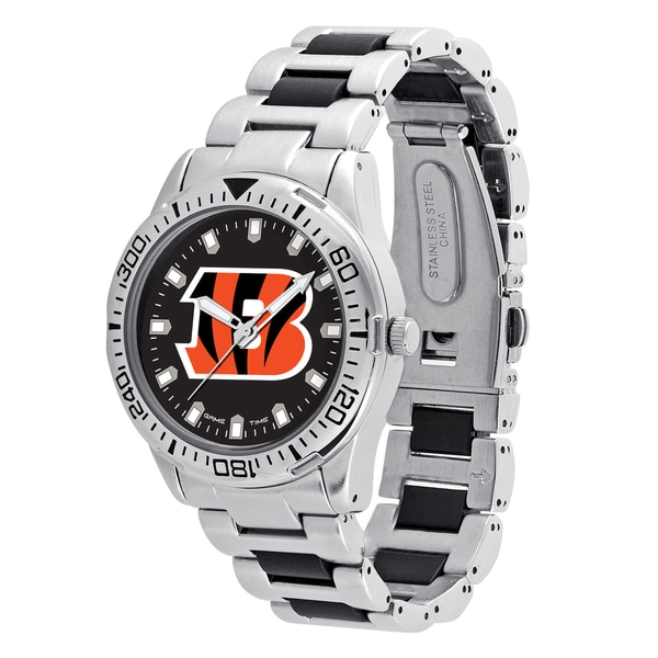 Cincinnati Bengals NFL Heavy Hitter Men's Watch