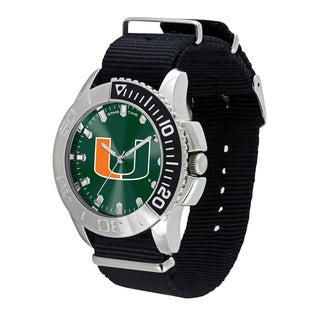 Miami Hurricanes NCAA Starter Men's Watch