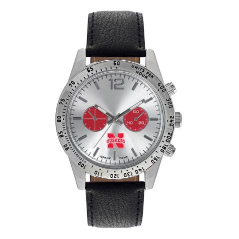 Nebraska Cornhuskers NCAA Letterman Men's Watch