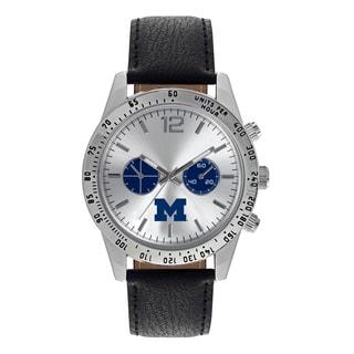 Michigan Wolverines NCAA Letterman Men's Watch