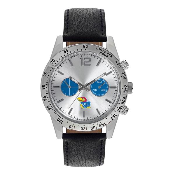 Kansas Jayhawks NCAA Letterman Men's Watch