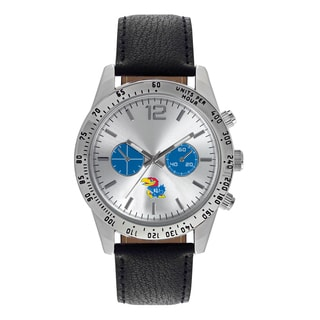 Kansas Jayhawks NCAA Letterman Men's Watch