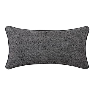 Vince Camuto Taos Signature Black/White Bolster Throw Pillow