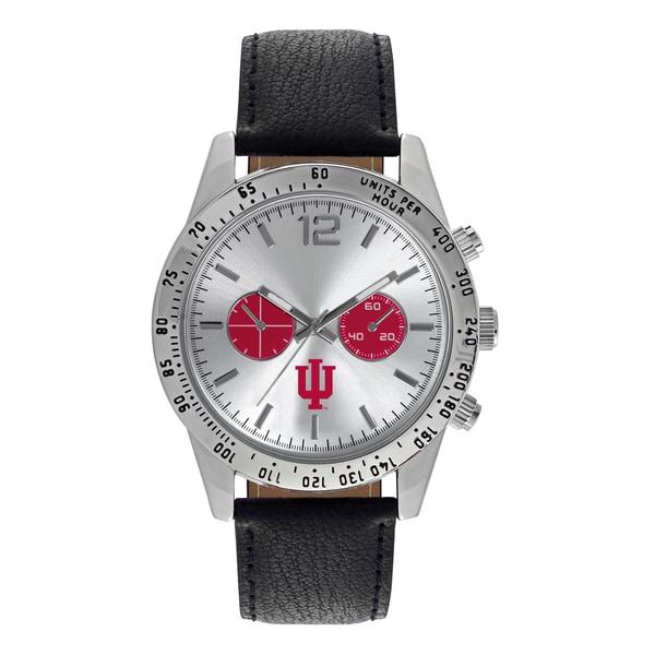 Indiana University Hoosiers NCAA Letterman Men's Watch