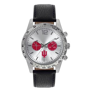 Indiana University Hoosiers NCAA Letterman Men's Watch
