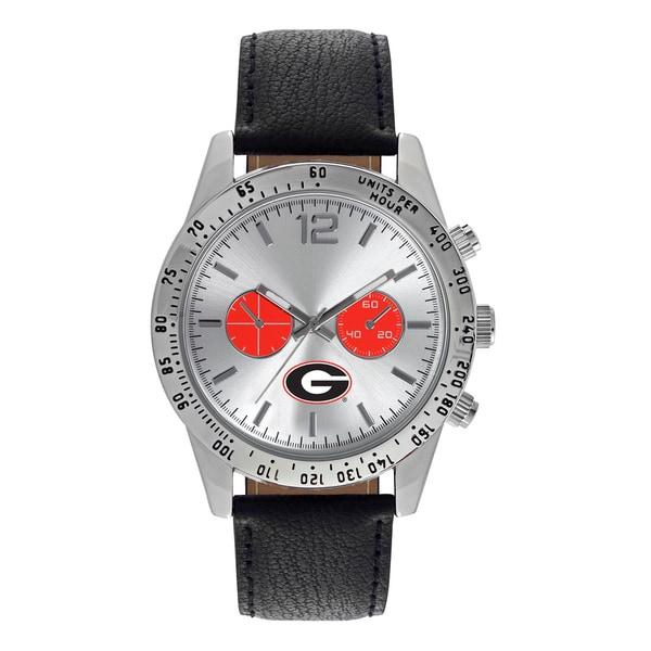 Georgia Bulldogs NCAA Letterman Men's Watch