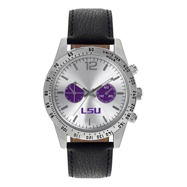 LSU Tigers NCAA Letterman Men's Watch