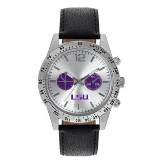 LSU Tigers NCAA Letterman Men's Watch