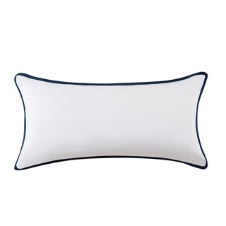 Vince Camuto Lyon Signature Cotton Bolster Throw Pillow (3 options available)