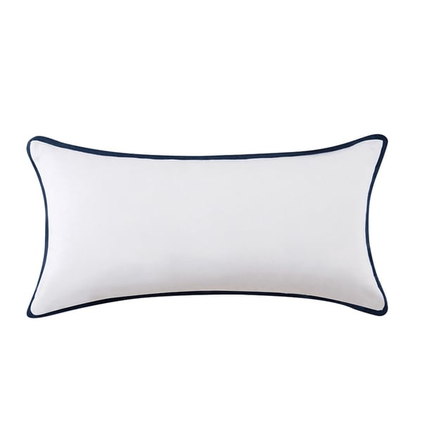 Shop Vince Camuto Lyon Signature Cotton Bolster Throw
