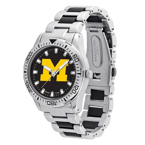 Michigan Wolverines NCAA Heavy Hitter Men's Watch