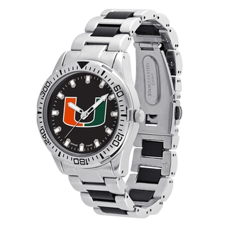 Miami Hurricanes NCAA Heavy Hitter Men's Watch