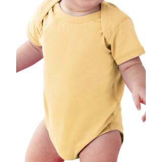 Rabbit Skins Butter Cotton Fine Jersey Lap Shoulder Infant Bodysuit