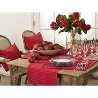 Rorie Collection Classic Design Cotton Table Runner
