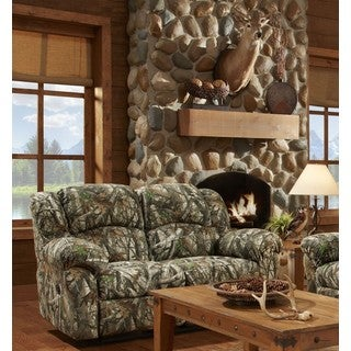 Chelsea Camouflage Reclining Loveseat
