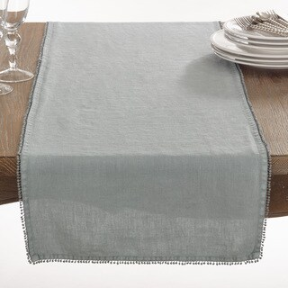 Pomponin Collection PomPom Design Table Runner