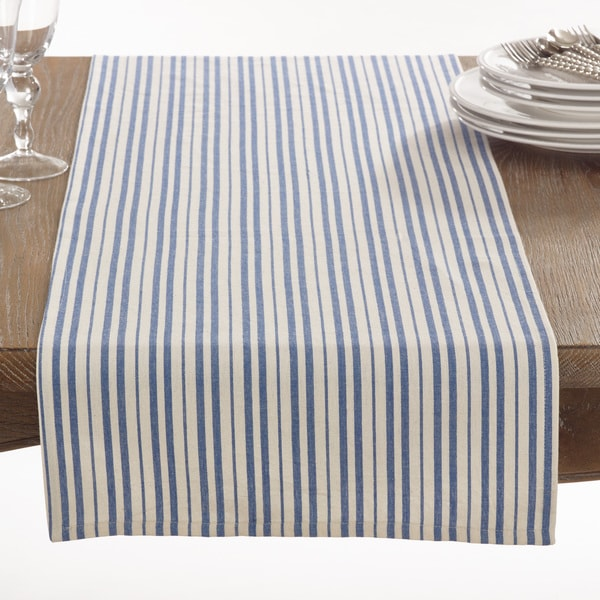 Dauphine Collection Striped Design Table Runner. Opens flyout.