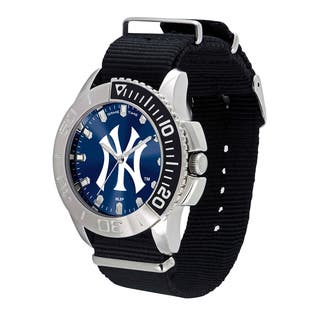 New York Yankees MLB Starter Men's Watch|https://ak1.ostkcdn.com/images/products/12137597/P18994101.jpg?impolicy=medium