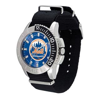 New York Mets MLB Starter Men's Watch|https://ak1.ostkcdn.com/images/products/12137599/P18994102.jpg?impolicy=medium