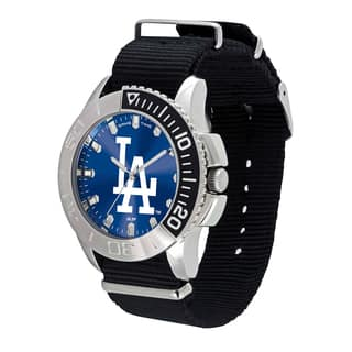 Los Angeles Dodgers MLB Starter Men's Watch|https://ak1.ostkcdn.com/images/products/12137601/P18994048.jpg?impolicy=medium