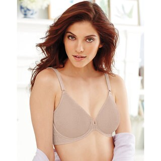 Bali Women's Comfort Revolution Nude Front Close Underwire Bra