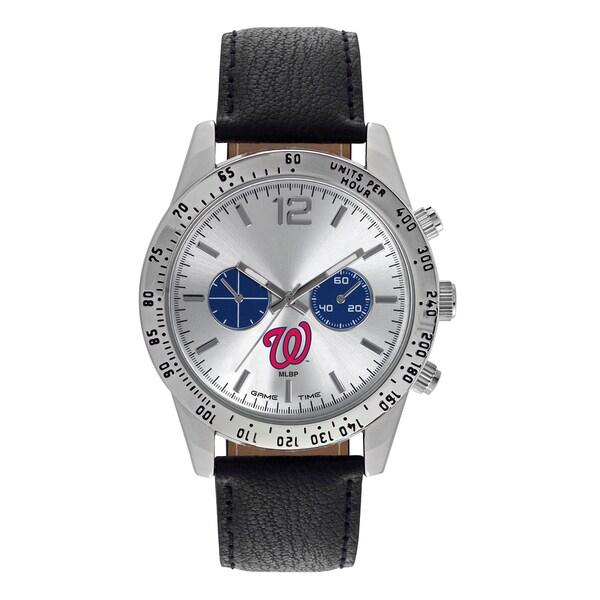 Washington Nationals MLB Letterman Men's Watch