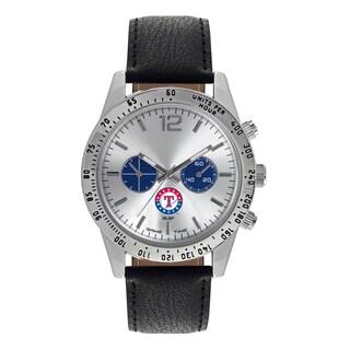 Texas Rangers MLB Letterman Men's Watch (Option: Texas Rangers)